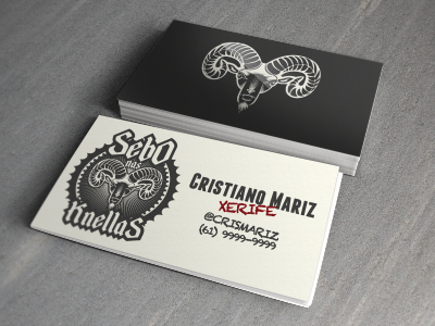 Sebo Nas Knellas business card