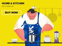 The kitchen king