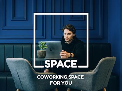 Thirty Logos #1 - Space minimalistic simple coworking space challenge thirtylogos thirty logos logo design logo