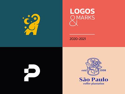 Logos and marks minimalistic design creative elegant simple modern mark logofolio logoset mascot character brand branding logotype logo