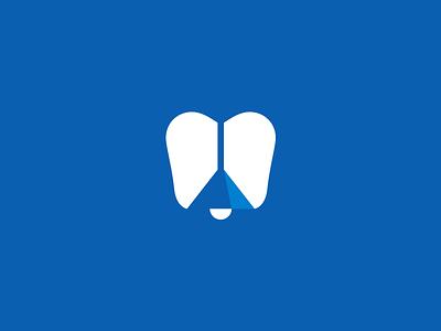 Tooth light minimalism stomatology tooth lamp dentist design creative elegant simple modern sign mark sale unused brand branding logotype logo