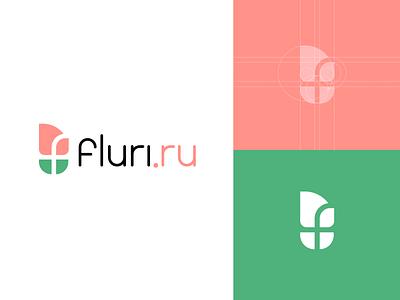 Flower design decor smart minimalism creative elegant simple modern mark sign flower brand branding logotype logo