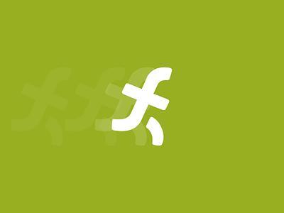 F for fitness sale smart creative elegant simple modern mark sign minimalism run sport fitness typography letter f design brand branding logotype logo