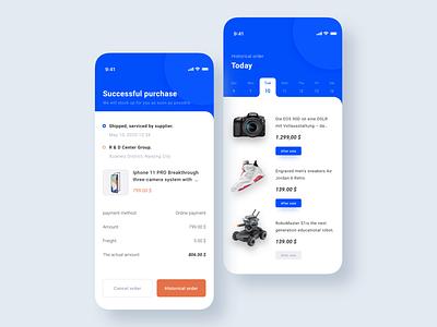 Business Order List - Downloads ⬇️ order business app design ai illustration figma ui