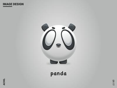 image design - panda