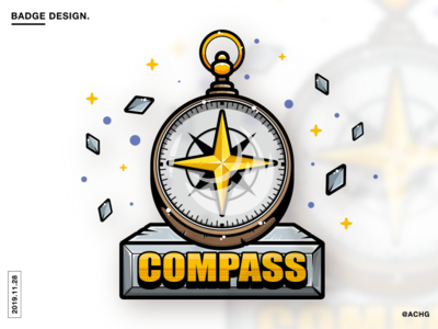 BADGE DESIGN - COMPASS