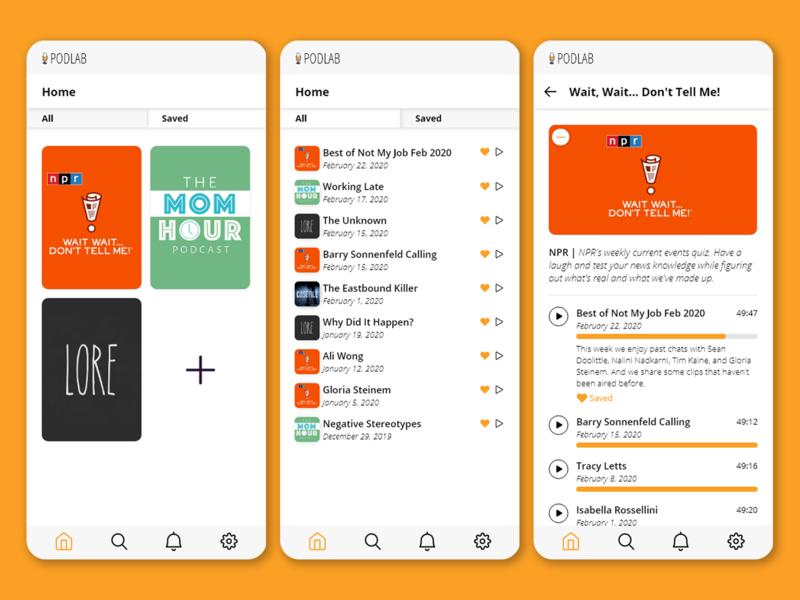 Podcast App podcasts podcasting app design icon ui web ios guide graphicdesign uidesign ux design app design podcast