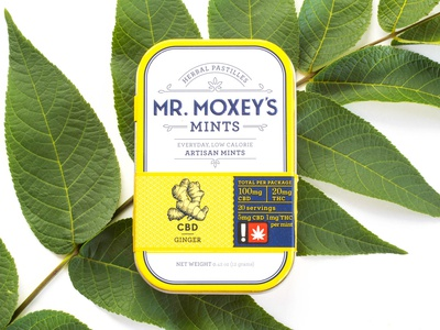 Mr. Moxey's Mints social media photography cannabis product photography photography