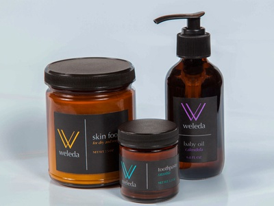 Weleda reBrand Idea package design brand identity logo branding design graphic design