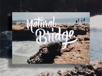 Natural Bridge    By Wanderzone