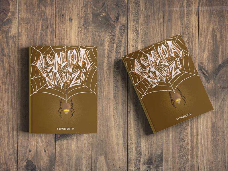 Kompa Nanzi book book design photoshop illustrator cc graphic design culture type aruba typography graphic design illustration