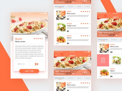 Food delivery app design by phylisha berry dribbble food delivery app design forumfinder Images
