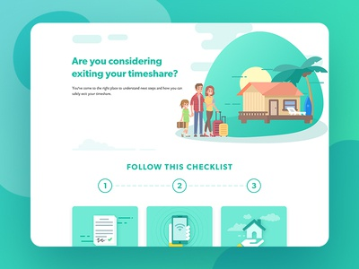 Timeshare landing page