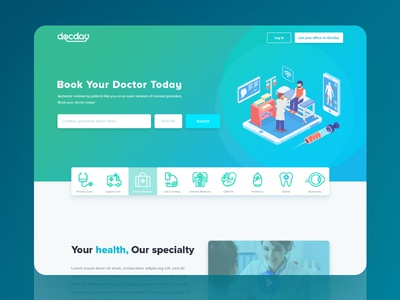 Doctor Landing Page