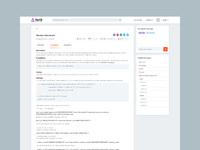 Algorithm view page