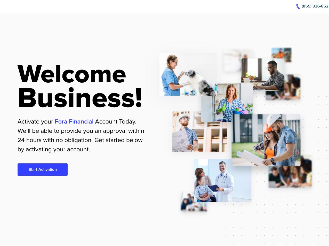 FORA Financial application landing page financial app fora branding web design illustration web ux ui