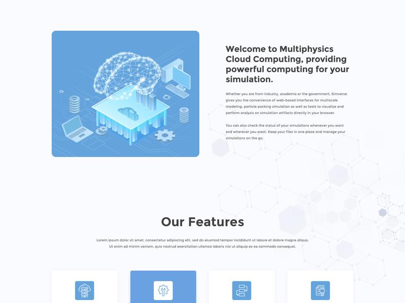 Simverse banner design landingpage webdesign web design illustration ui ux web simverse