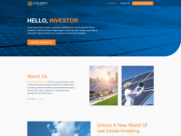 Investment Page Design