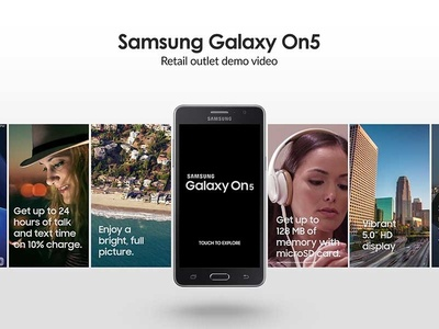 Samsung Galaxy On5 Interactive Video