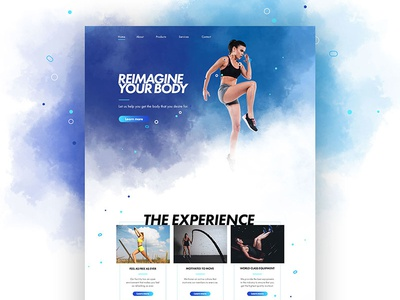 Product Info page design