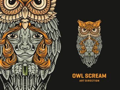 OWL SCREAM