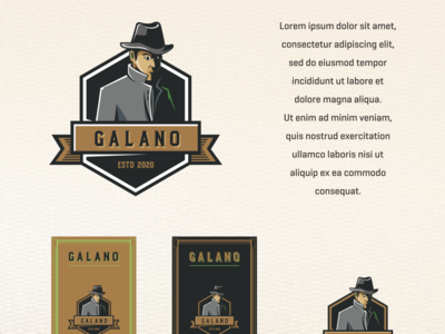 galano beer label