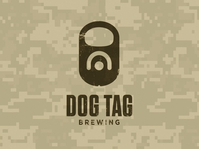 Unused Concept: Dog Tag Brewing
