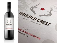 Boulder Crest Retreat Wine