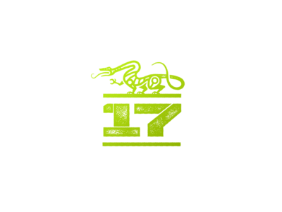 Battle of the Vikings 2017 linework line logo symbol green competition norse viking dragon crossfit