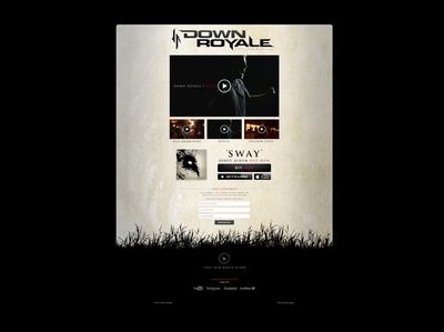 Down Royale Web Design