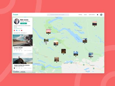Travelr App Concept