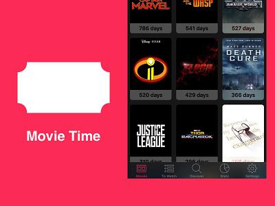Movie Time - iOS app movies app ios
