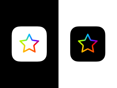 ReviewsTime App Icon pride iphone ios colorful app app icon