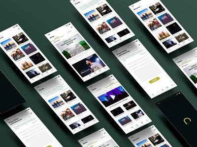 The Church App design app branding ux ui