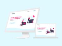 Concept Main Page - Frama Studio