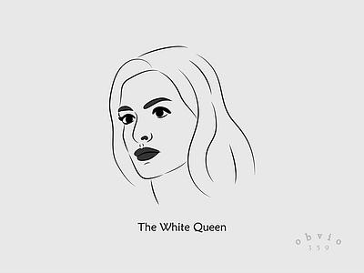 The White Queen, Anne Hathaway minimalism queen white hathaway