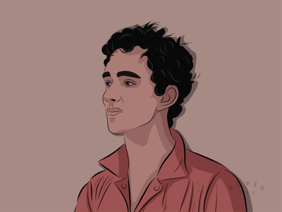 Nathan Young, Misfits character illustration portrait movie savemebarry robertsheehan monkeyslut misfits nathanyoung
