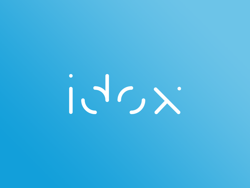 Idox logo concept branding flat 2d minimal logo sleek logo corporate logo logo logo design