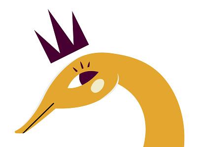 Nessy lochness monster digital lochness vector illustrator illustration