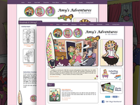 Custom Website - Children's Book Series
