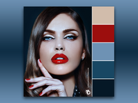 """""""Glossy"""" Color Palette"""