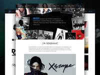 Entertainment Firm Website