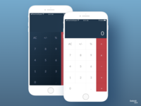 Daily UI 004 Calculator (iOS)