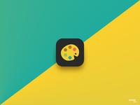 Daily UI 005 App Icon 'Color Buddy'