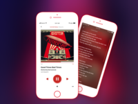 Daily UI 009 Music Player (iOS)