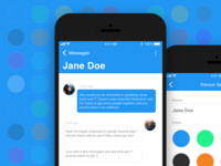 Daily UI #013 — Direct Messaging