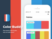Color Buddy - Palette Manager for iOS