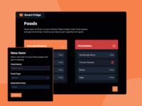 Smart Fridge - Web Application