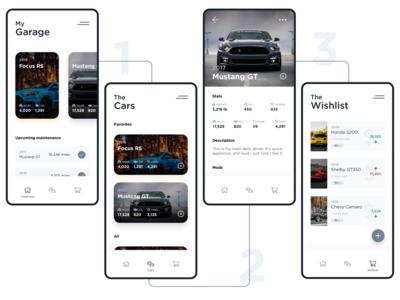 My Garage - Mobile App