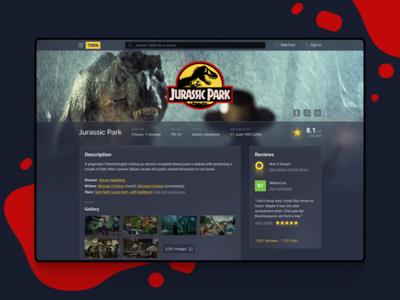 Movie Database - Web Design